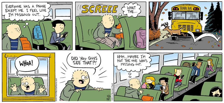 Gil Comic Strip for November 18, 2018