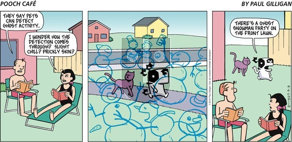 Pooch Cafe on Sunday September 8, 2019 Comic Strip