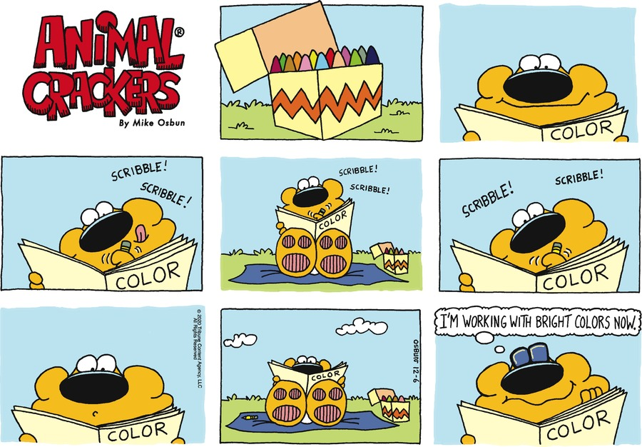 Animal Crackers Comic Strip for December 06, 2020