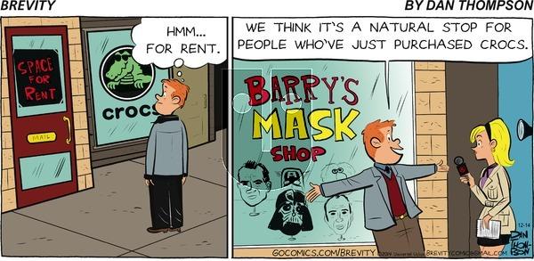 Brevity on Sunday December 14, 2014 Comic Strip