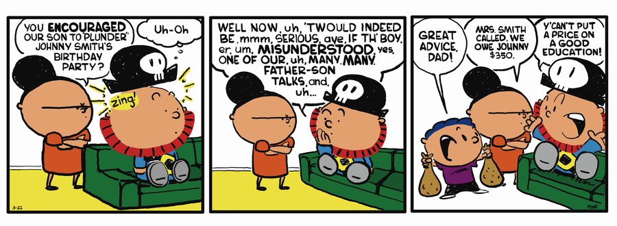 Pirate Mike Comic Strip for May 22, 2019