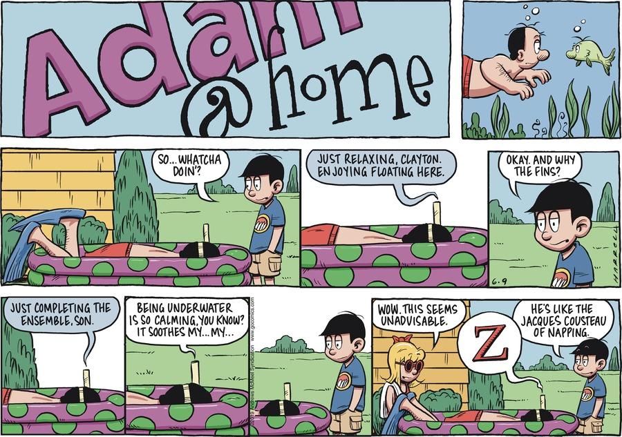 Adam@Home Comic Strip for June 09, 2019