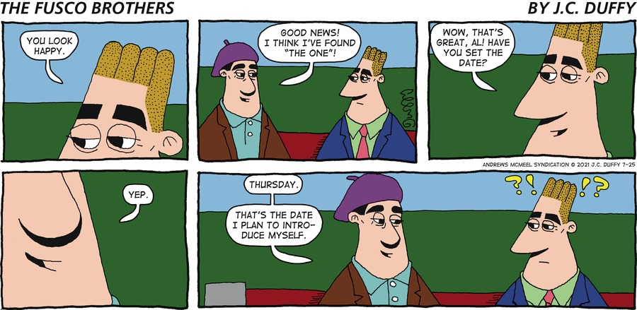 The Fusco Brothers Comic Strip for July 25, 2021