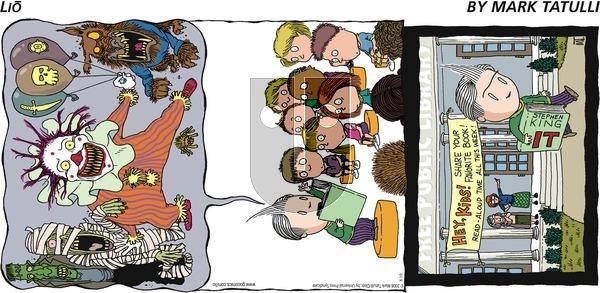 Lio on Sunday August 10, 2008 Comic Strip