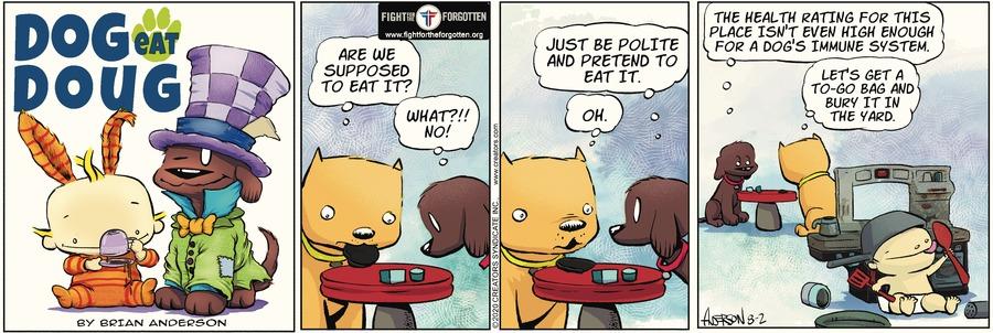 Dog Eat Doug Comic Strip for August 02, 2020