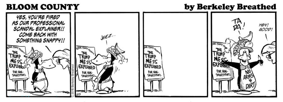 Bloom County 2019 Comic Strip for October 15, 2019