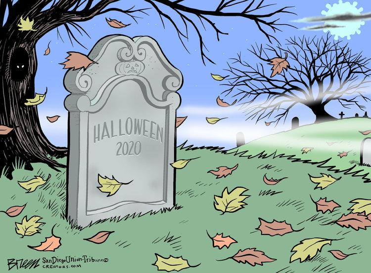 Steve Breen Comic Strip for October 30, 2020