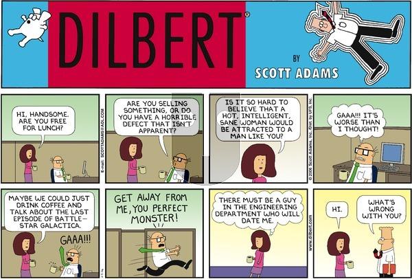 Dilbert - Sunday February 5, 2006 Comic Strip