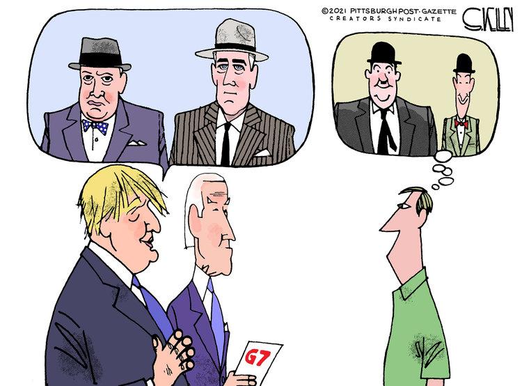Steve Kelley Comic Strip for June 13, 2021