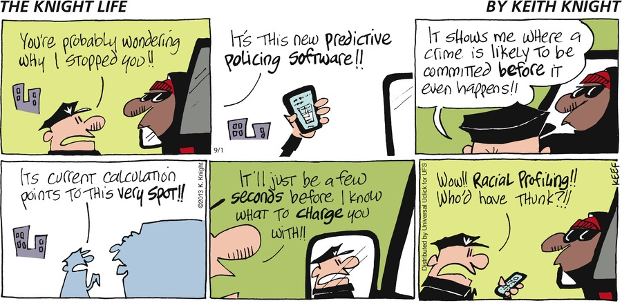 The Knight Life Comic Strip for September 01, 2013