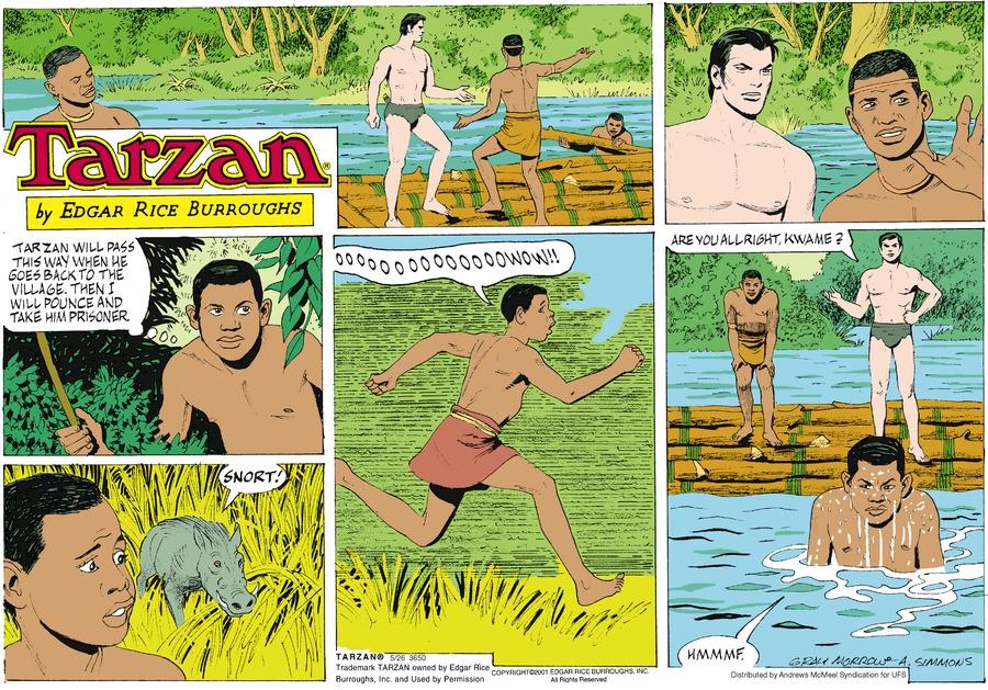 Tarzan by Edgar Rice Burroughs for May 26, 2019