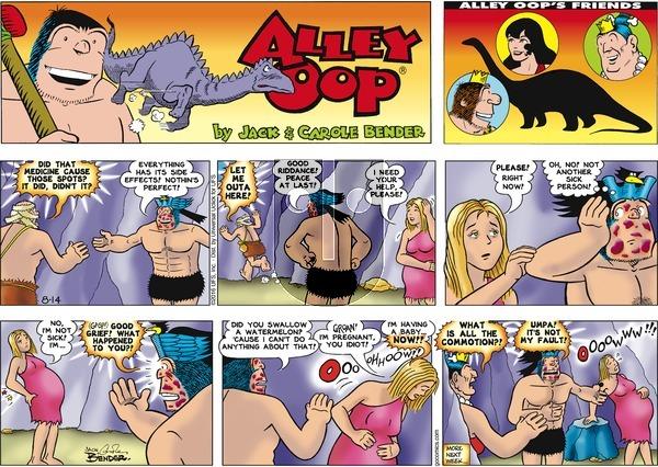 Alley Oop on Sunday August 14, 2016 Comic Strip