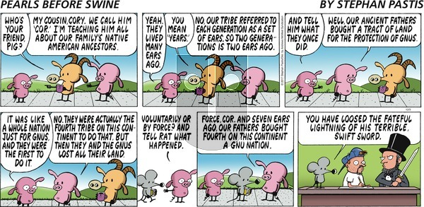 Pearls Before Swine on Sunday December 3, 2017 Comic Strip