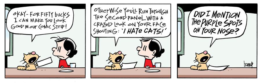 Ten Cats Comic Strip for October 15, 2020