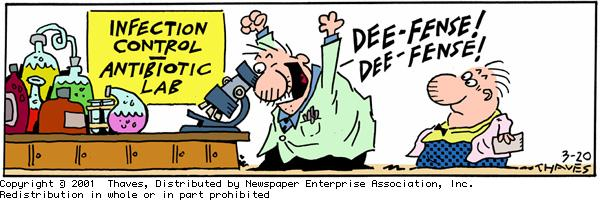 Frank and Ernest for Mar 20, 2001 Comic Strip