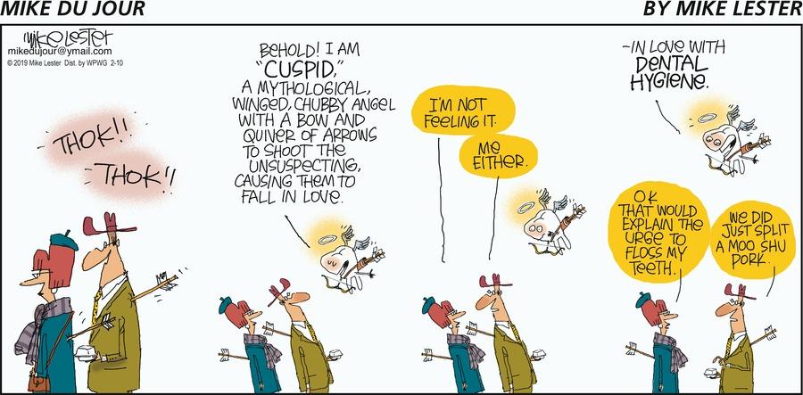 Mike du Jour Comic Strip for February 10, 2019