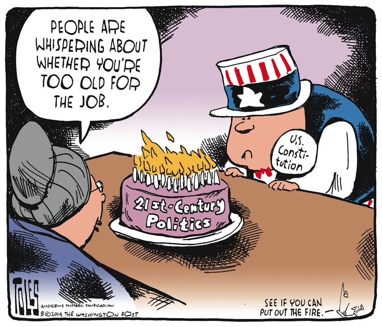 Tom Toles Comic Strip for August 04, 2019