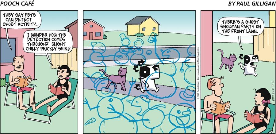 Pooch Cafe Comic Strip for September 08, 2019