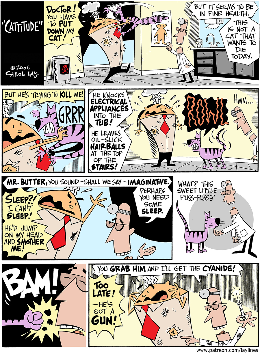 Lay Lines Comic Strip for November 20, 2017