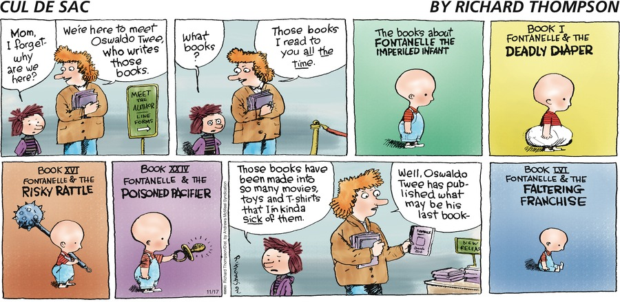 Cul de Sac Comic Strip for November 17, 2019