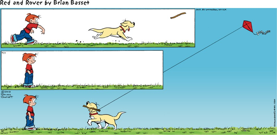 Red and Rover for Apr 7, 2013 Comic Strip