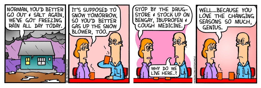 Just Say Uncle Comic Strip for January 16, 2019