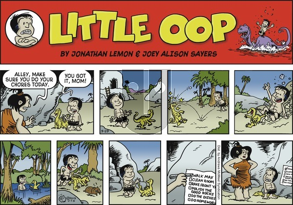 Alley Oop on Sunday September 29, 2019 Comic Strip