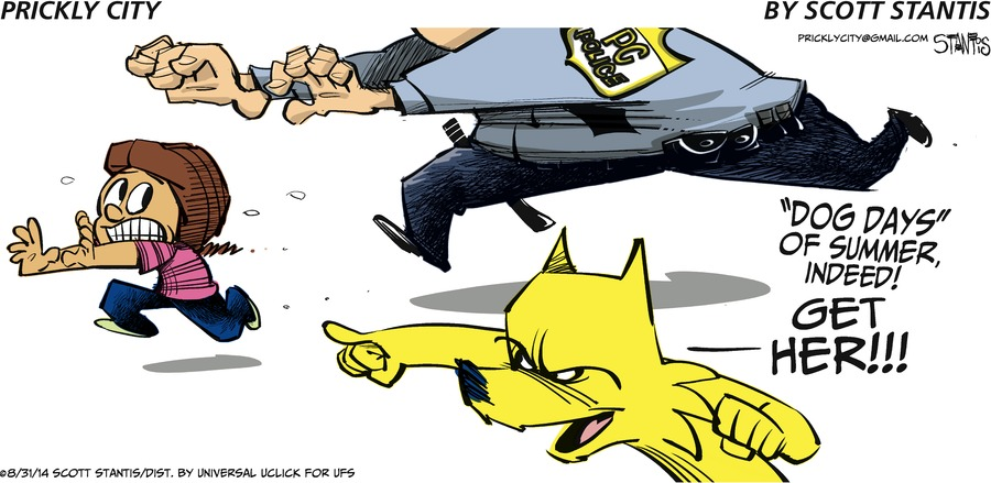 Prickly City for Aug 31, 2014 Comic Strip