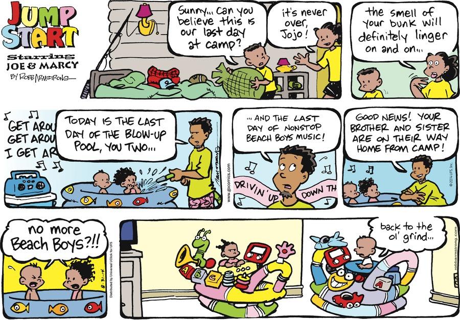 JumpStart Comic Strip for August 31, 2014