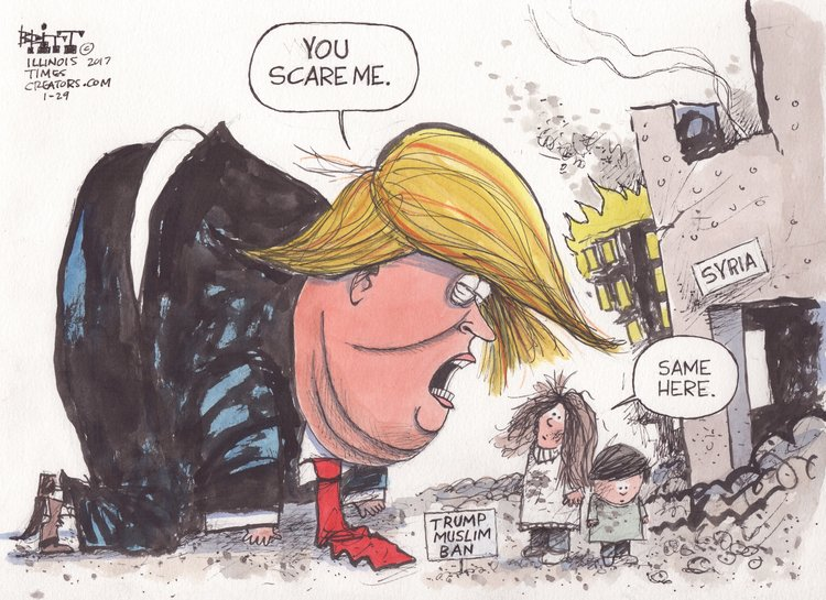 Chris Britt Comic Strip for January 30, 2017