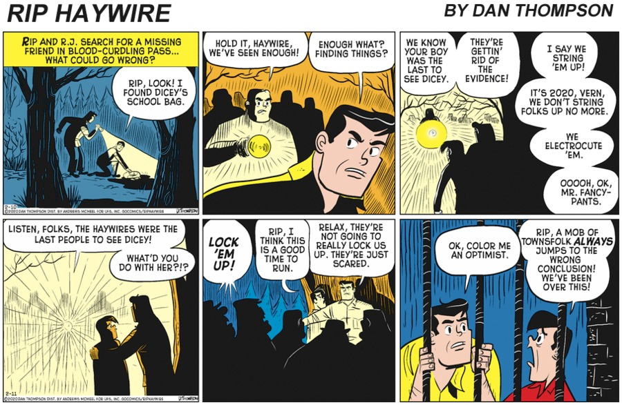 Rip Haywire Comic Strip for July 11, 2021