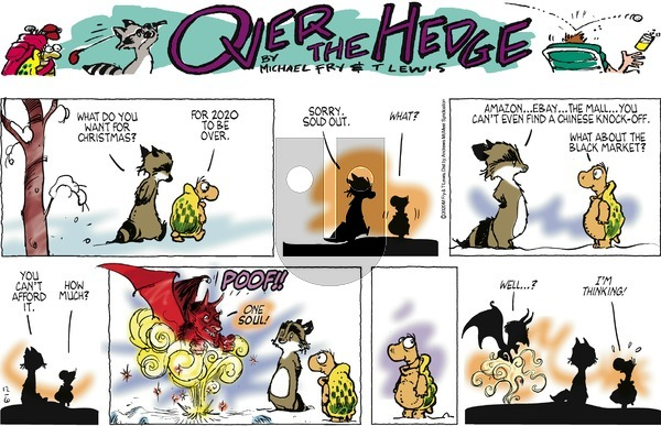 Over the Hedge on Sunday December 6, 2020 Comic Strip
