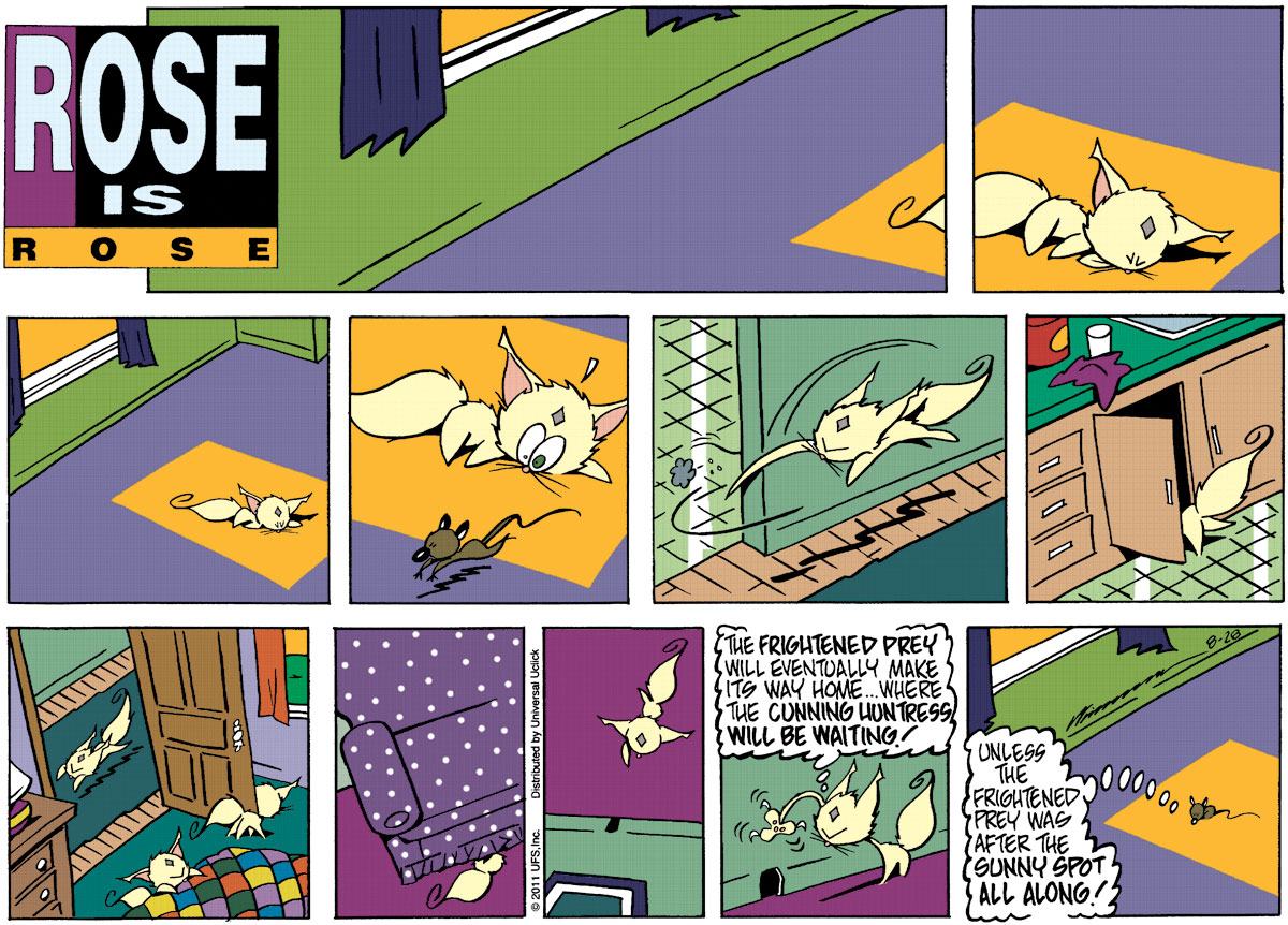 Rose is Rose Comic Strip for August 28, 2011