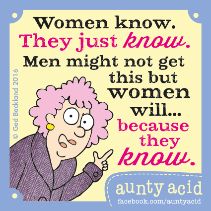 Aunty Acid for Apr 10, 2016 Comic Strip