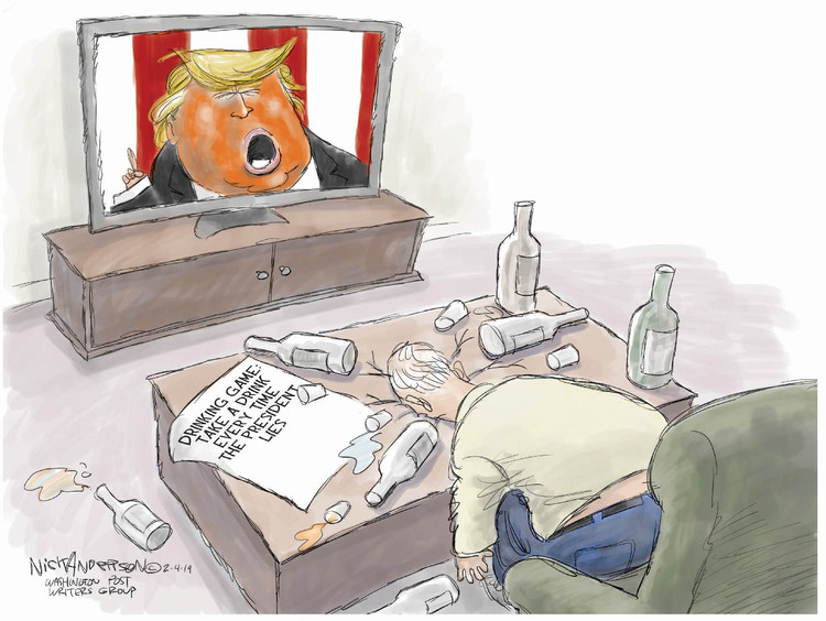 Nick Anderson Comic Strip for February 05, 2019