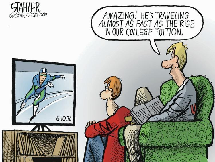 Jeff Stahler Comic Strip for February 16, 2014