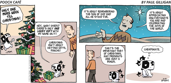 Pooch Cafe Comic Strip for December 19, 2010