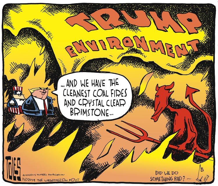 Tom Toles Comic Strip for July 14, 2019