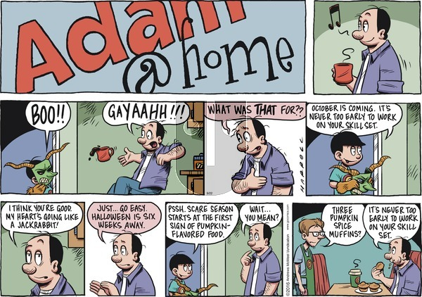 Adam@Home on Sunday September 22, 2019 Comic Strip