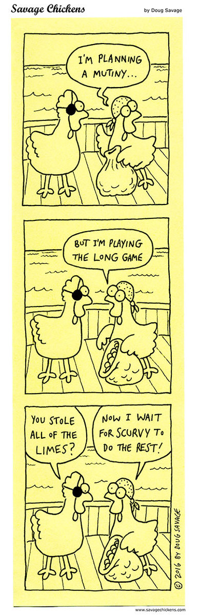 Savage Chickens Comic Strip for September 16, 2020