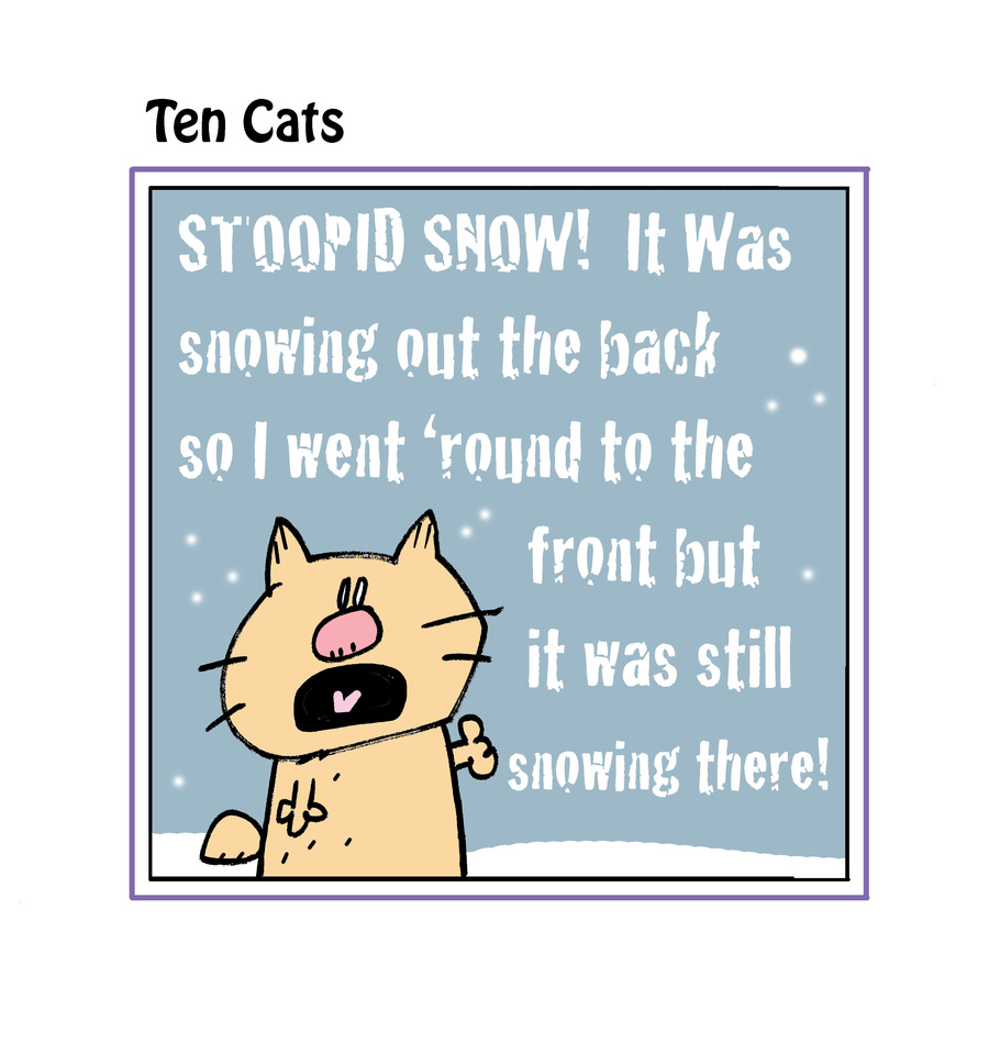 Ten Cats by Graham Harrop on Mon, 15 Feb 2021