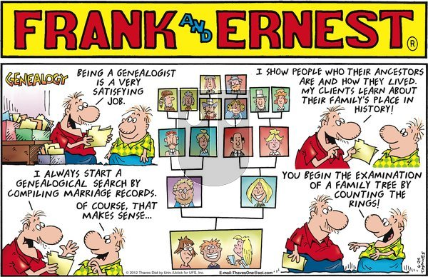Frank and Ernest on Sunday June 24, 2012 Comic Strip