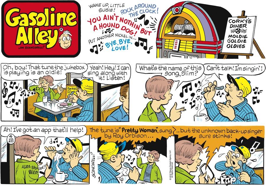 Gasoline Alley Comic Strip for April 28, 2019