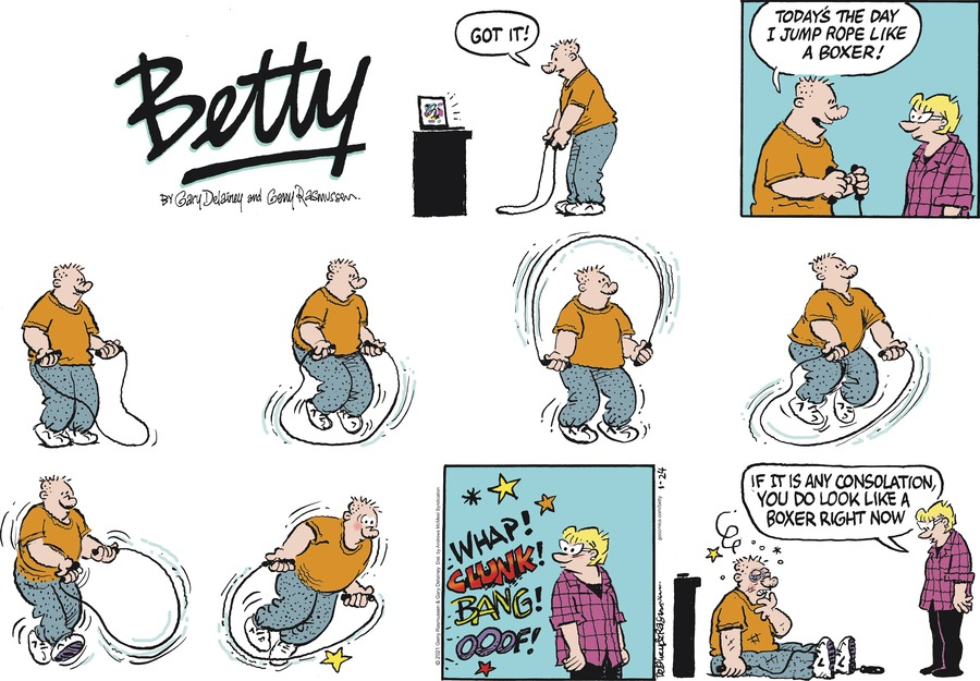 Betty Comic Strip for January 24, 2021