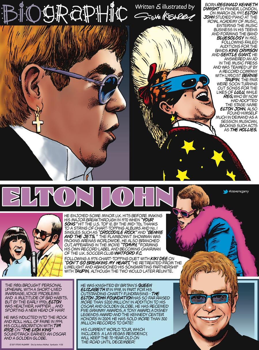 Biographic Comic Strip for April 30, 2017