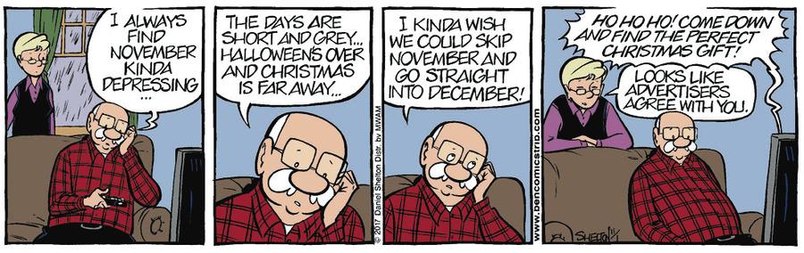 Ben Comic Strip for November 03, 2017