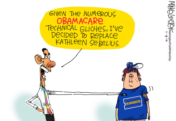 Mike Lester for Nov 8, 2013 Comic Strip