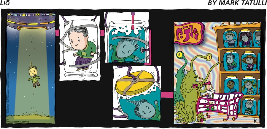 Lio Comic Strip for April 05, 2009