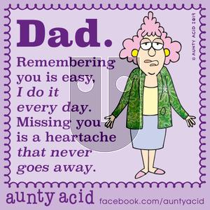 Aunty Acid on Monday October 21, 2019 Comic Strip
