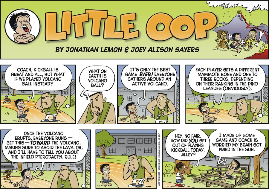 Alley Oop by Jonathan Lemon and Joey Alison Sayers on Sun, 17 Oct 2021